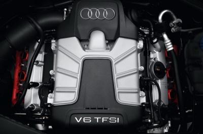 Новият V6 TFSI на Audi