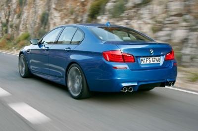 Новото BMW M5 2012 с V8 вместо V10