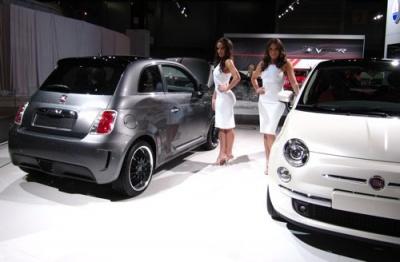 Новият FIAT 500 с двуцилиндров двигател Twin Air