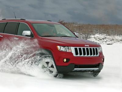 Карането в пряспи води до натрупването на сняг по джантите